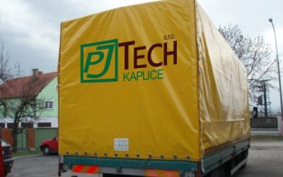 Plachty na nákladní auta
